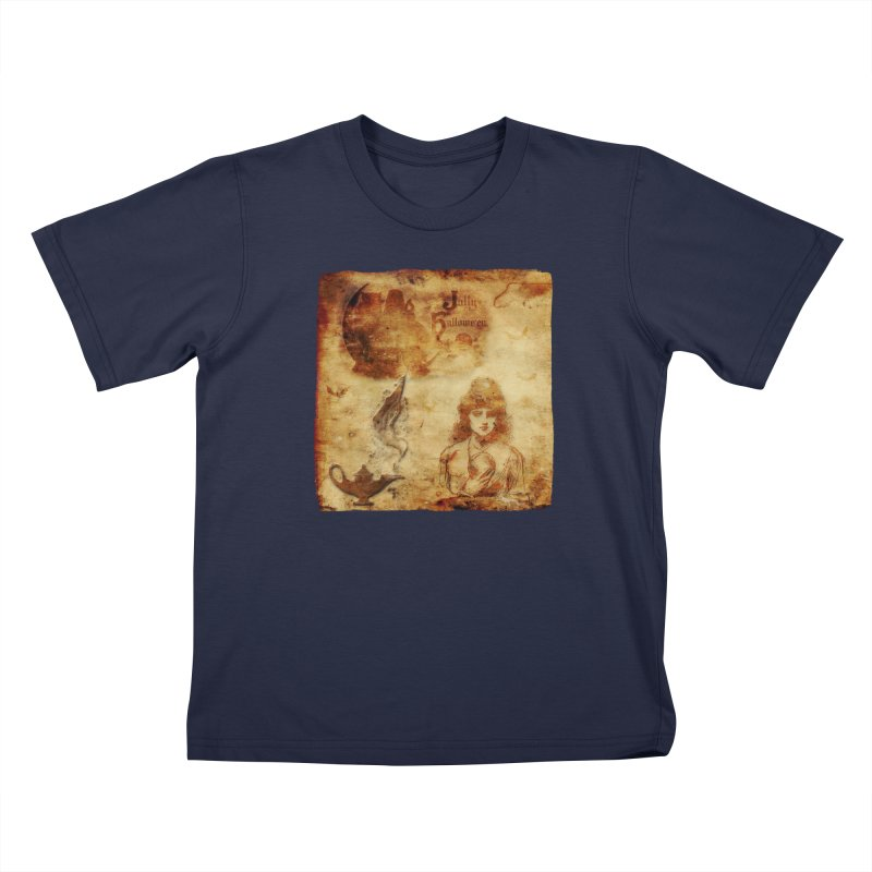 A Jolly Halloween - The Fortune Teller Kids T-Shirt by Maryheartworks's Artist Shop