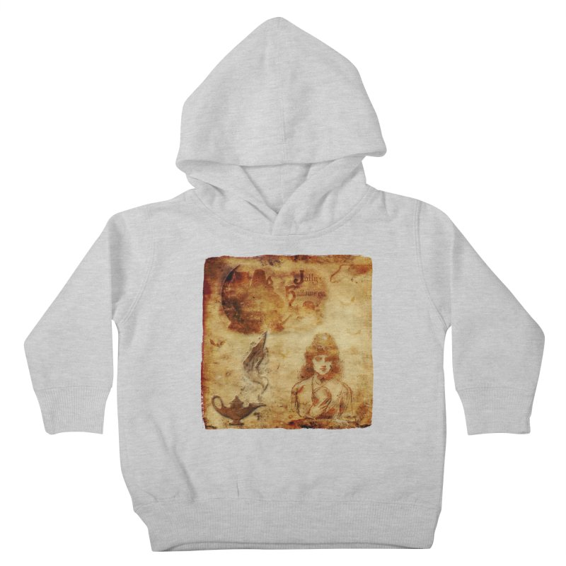 A Jolly Halloween - The Fortune Teller Kids Toddler Pullover Hoody by Maryheartworks's Artist Shop