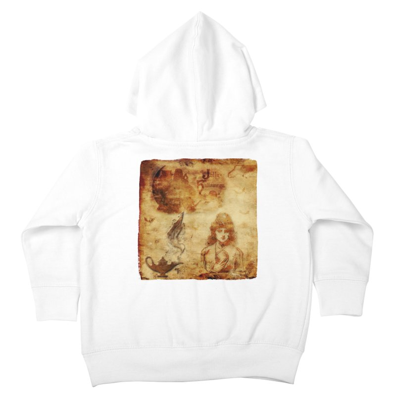 A Jolly Halloween - The Fortune Teller Kids Toddler Zip-Up Hoody by Maryheartworks's Artist Shop