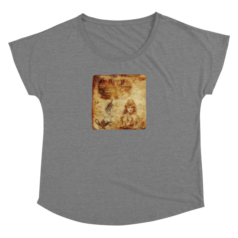 A Jolly Halloween - The Fortune Teller Women's Scoop Neck by Maryheartworks's Artist Shop
