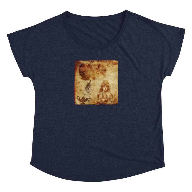 A Jolly Halloween - The Fortune Teller Women's Dolman Scoop Neck by Maryheartworks's Artist Shop