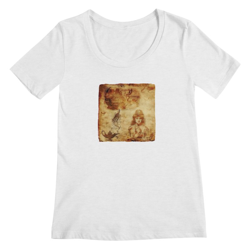 A Jolly Halloween - The Fortune Teller Women's Regular Scoop Neck by Maryheartworks's Artist Shop