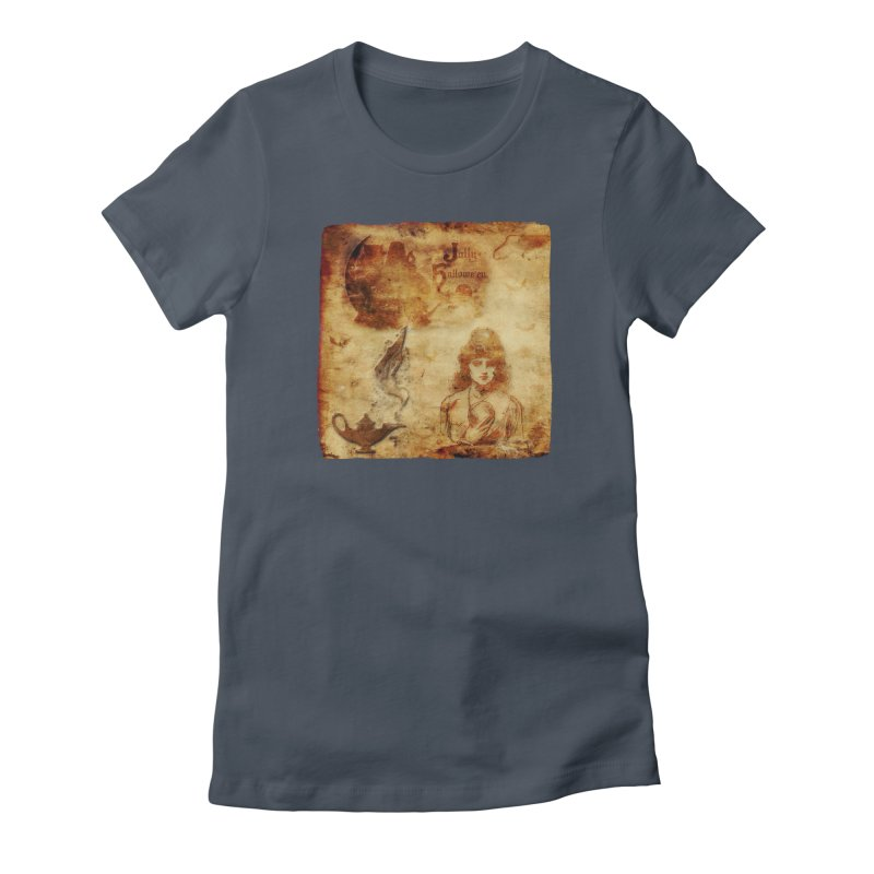A Jolly Halloween - The Fortune Teller Women's T-Shirt by Maryheartworks's Artist Shop