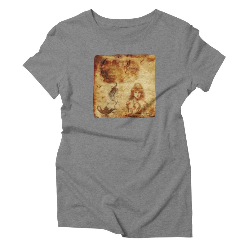 A Jolly Halloween - The Fortune Teller Women's Triblend T-Shirt by Maryheartworks's Artist Shop