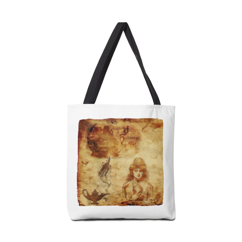 A Jolly Halloween - The Fortune Teller Accessories Tote Bag Bag by Maryheartworks's Artist Shop