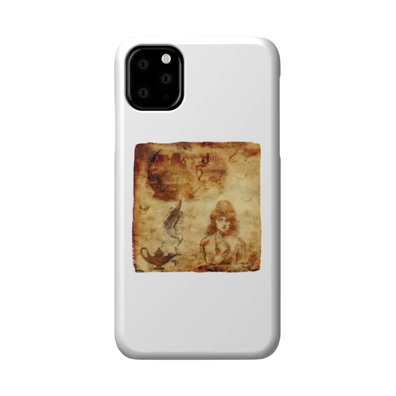 A Jolly Halloween - The Fortune Teller Accessories Phone Case by Maryheartworks's Artist Shop