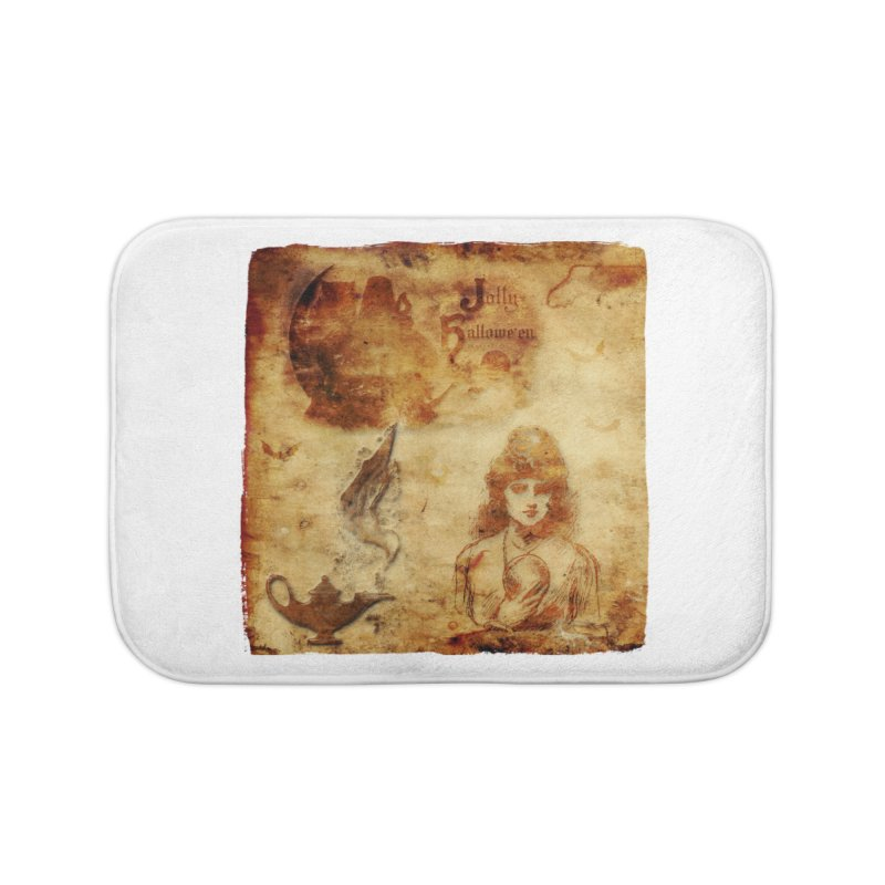 A Jolly Halloween - The Fortune Teller Home Bath Mat by Maryheartworks's Artist Shop
