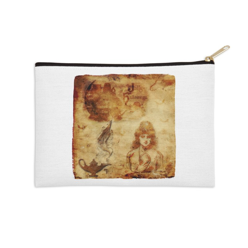 A Jolly Halloween - The Fortune Teller Accessories Zip Pouch by Maryheartworks's Artist Shop