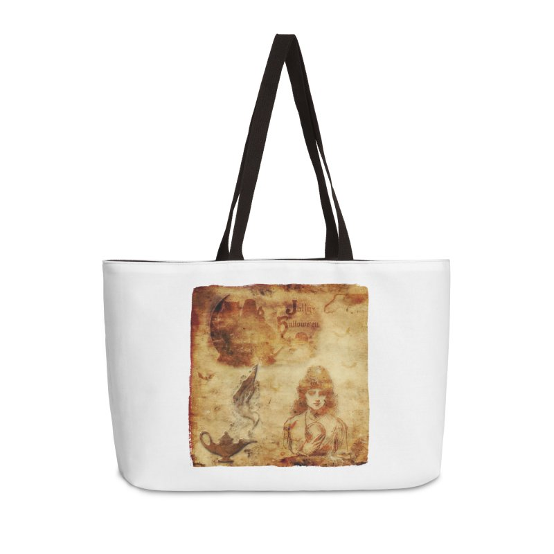 A Jolly Halloween - The Fortune Teller Accessories Weekender Bag Bag by Maryheartworks's Artist Shop