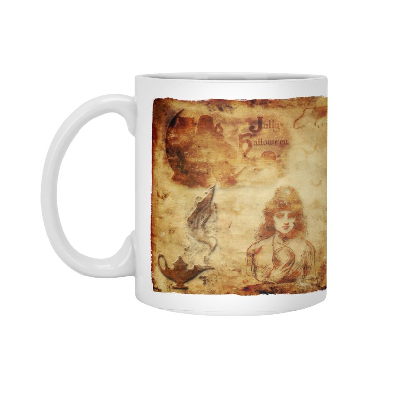 A Jolly Halloween - The Fortune Teller Accessories Standard Mug by Maryheartworks's Artist Shop