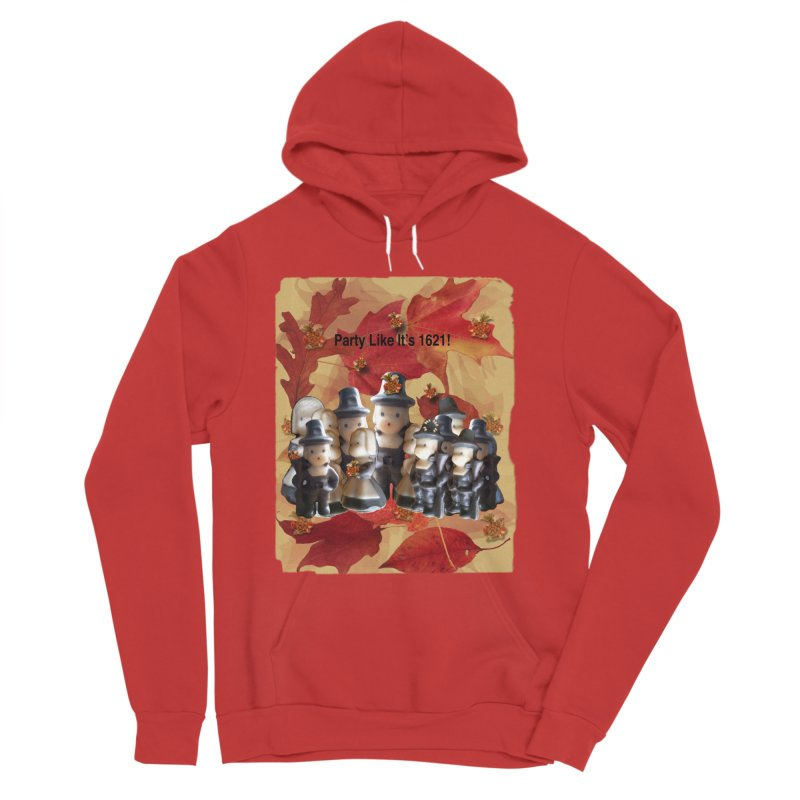 Party Like It's 1621! Men's Pullover Hoody by Maryheartworks's Artist Shop