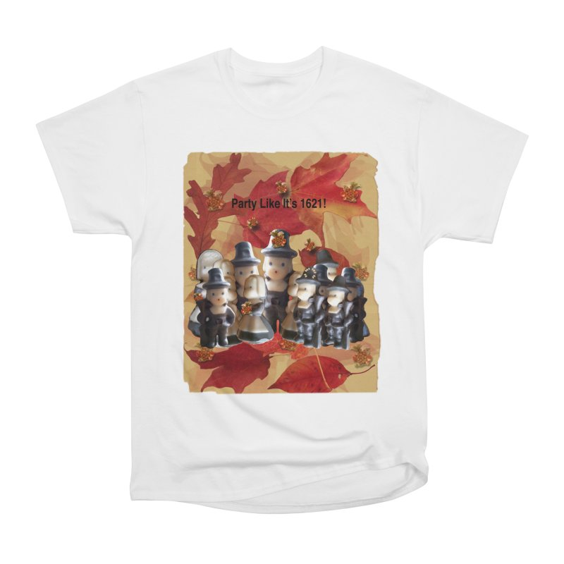 Party Like It's 1621! Women's T-Shirt by Maryheartworks's Artist Shop