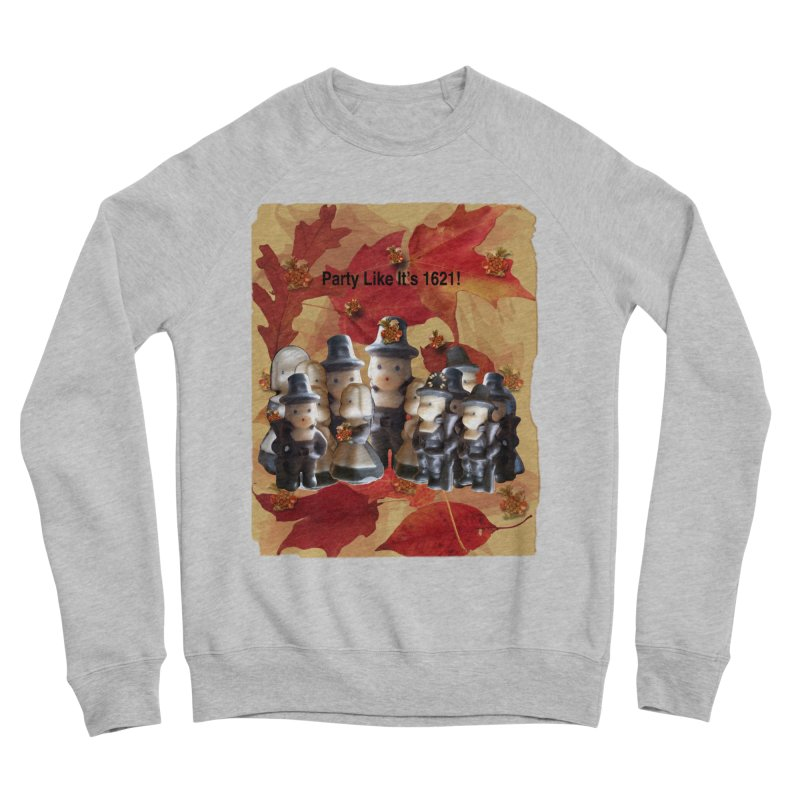 Party Like It's 1621! Men's Sponge Fleece Sweatshirt by Maryheartworks's Artist Shop