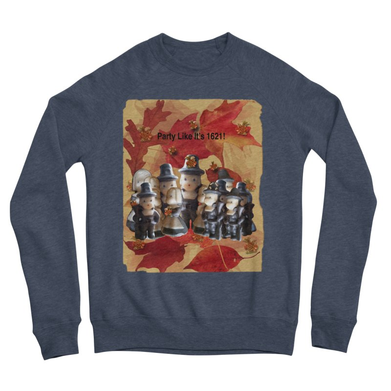 Party Like It's 1621! Men's Sponge Fleece Sweatshirt by Maryheartworks's Artist Shop