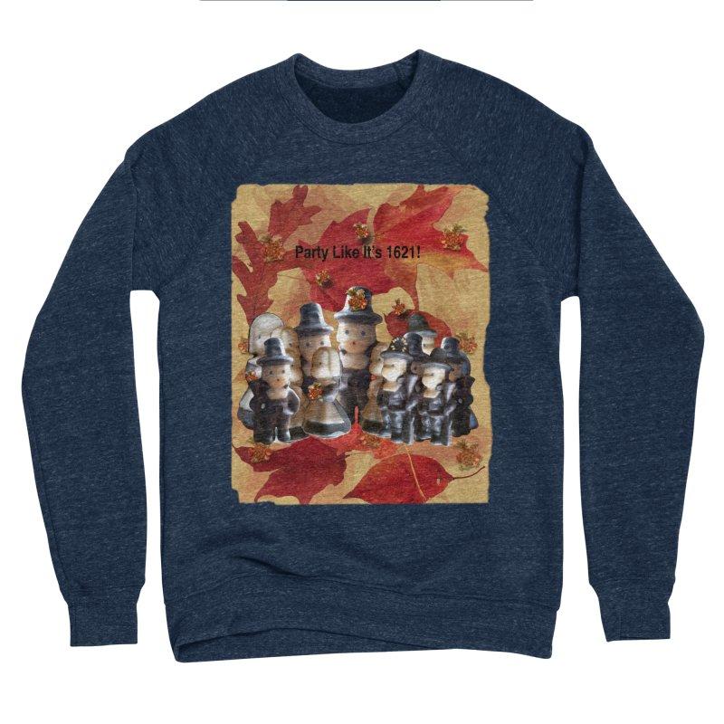 Party Like It's 1621! Women's Sponge Fleece Sweatshirt by Maryheartworks's Artist Shop