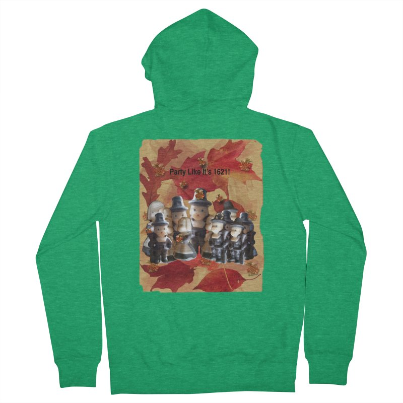 Party Like It's 1621! Women's Zip-Up Hoody by Maryheartworks's Artist Shop