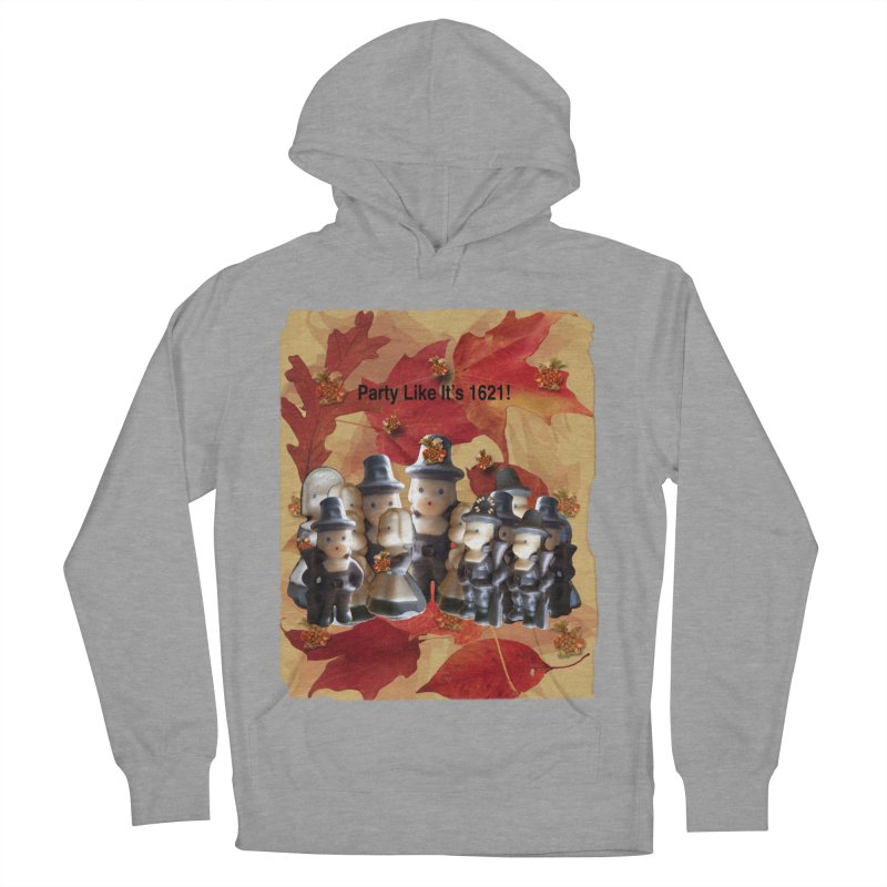 Party Like It's 1621! Women's French Terry Pullover Hoody by Maryheartworks's Artist Shop