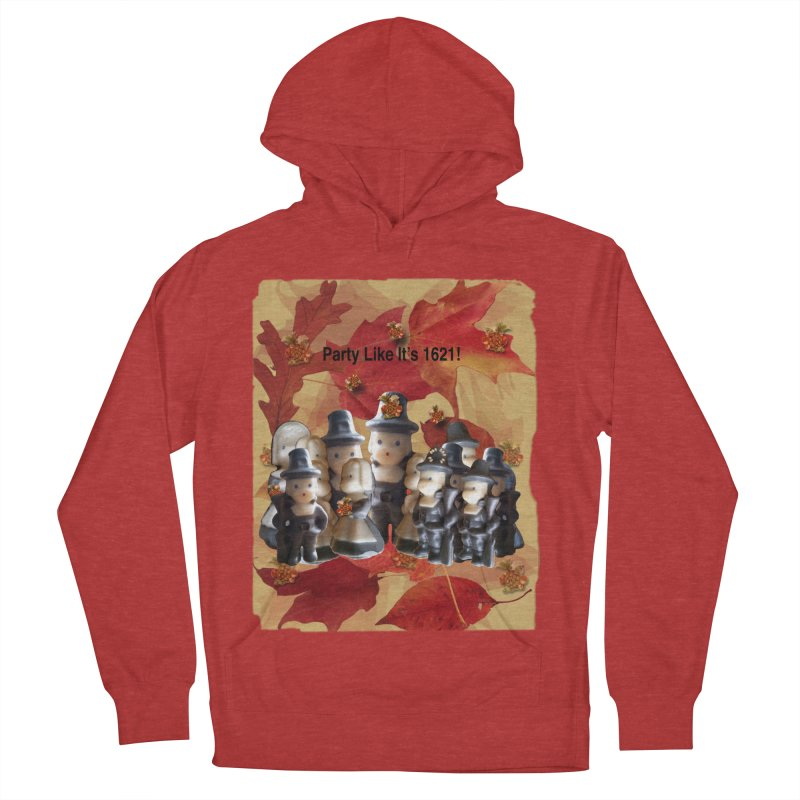 Party Like It's 1621! Men's French Terry Pullover Hoody by Maryheartworks's Artist Shop
