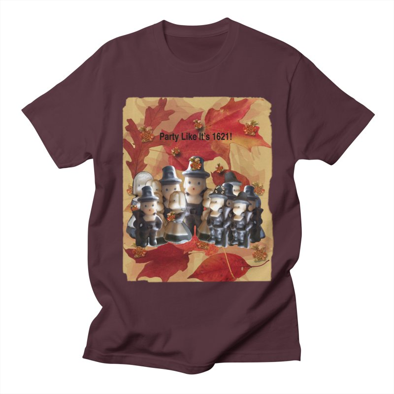 Party Like It's 1621! Women's Regular Unisex T-Shirt by Maryheartworks's Artist Shop