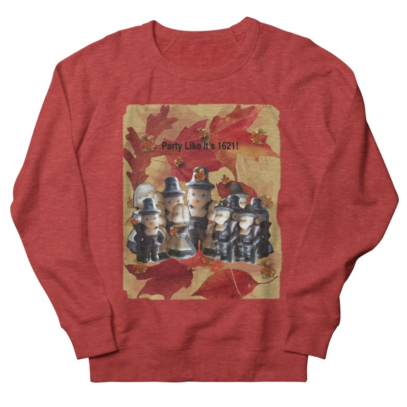 Party Like It's 1621! Men's French Terry Sweatshirt by Maryheartworks's Artist Shop