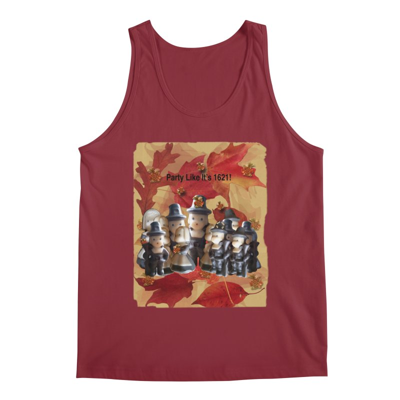 Party Like It's 1621! Men's Regular Tank by Maryheartworks's Artist Shop