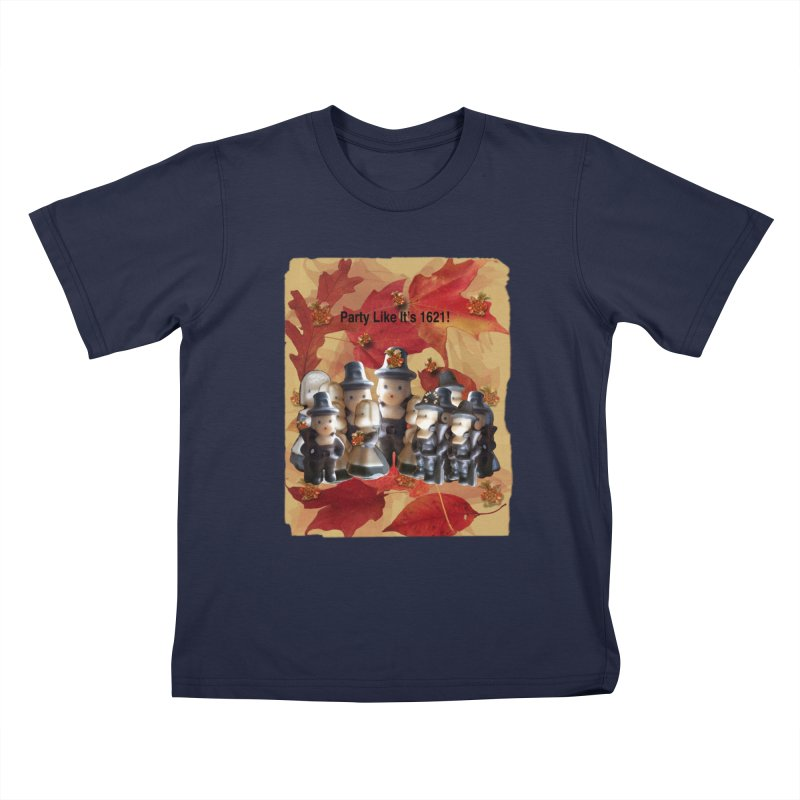 Party Like It's 1621! Kids T-Shirt by Maryheartworks's Artist Shop