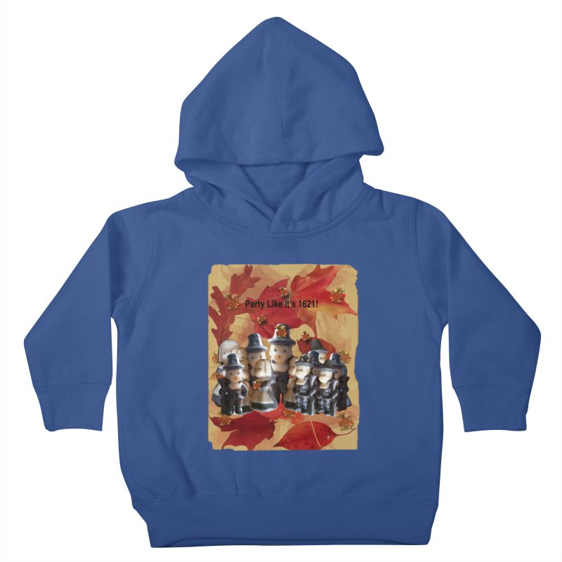 Party Like It's 1621! Kids Toddler Pullover Hoody by Maryheartworks's Artist Shop