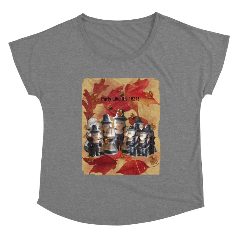 Party Like It's 1621! Women's Scoop Neck by Maryheartworks's Artist Shop