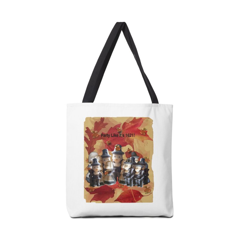 Party Like It's 1621! Accessories Tote Bag Bag by Maryheartworks's Artist Shop