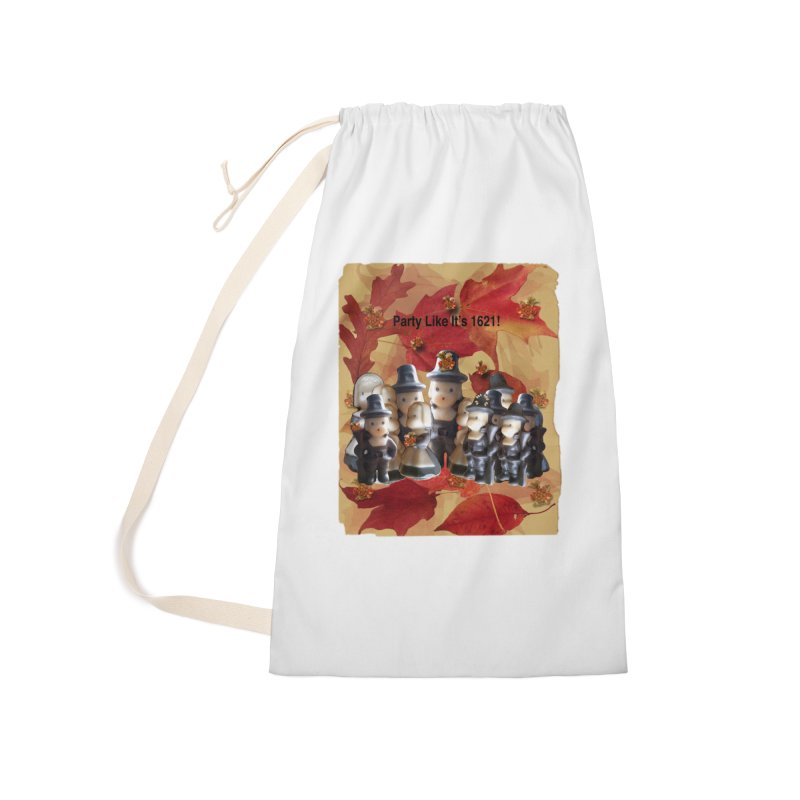 Party Like It's 1621! Accessories Laundry Bag Bag by Maryheartworks's Artist Shop