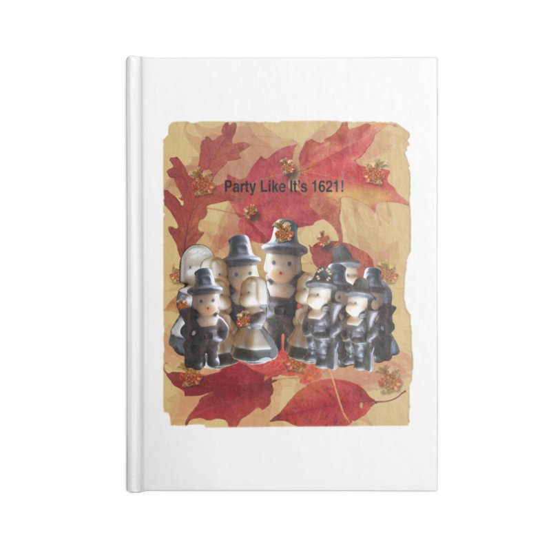 Party Like It's 1621! Accessories Notebook by Maryheartworks's Artist Shop