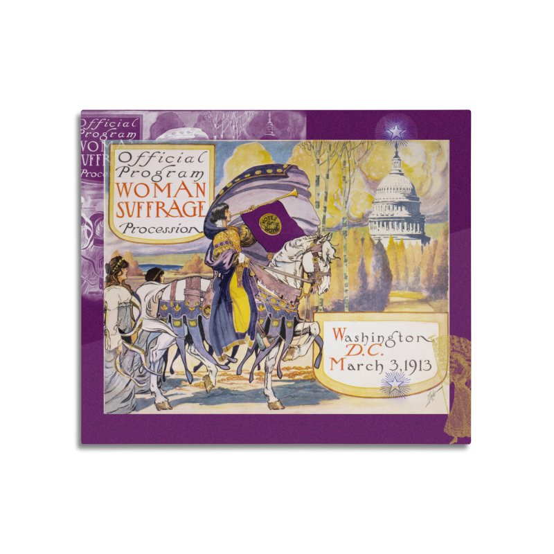 Women's March On Washington 1913, Women's Suffrage Home Mounted Acrylic Print by Maryheartworks's Artist Shop