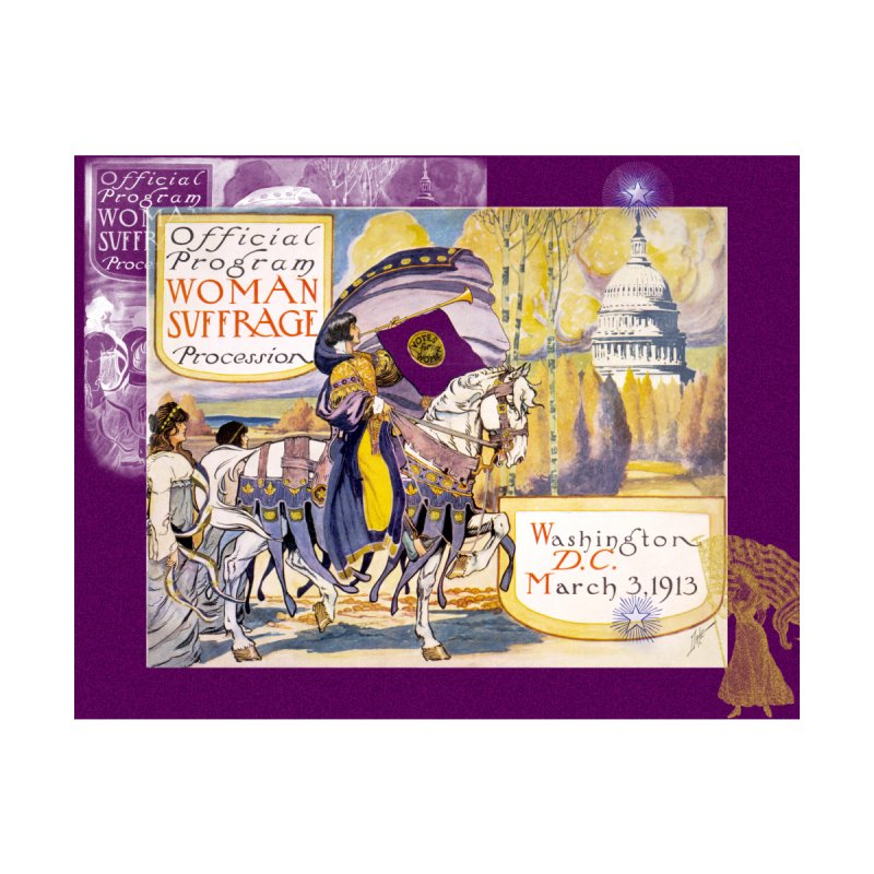 Women's March On Washington 1913, Women's Suffrage Home Rug by Maryheartworks's Artist Shop