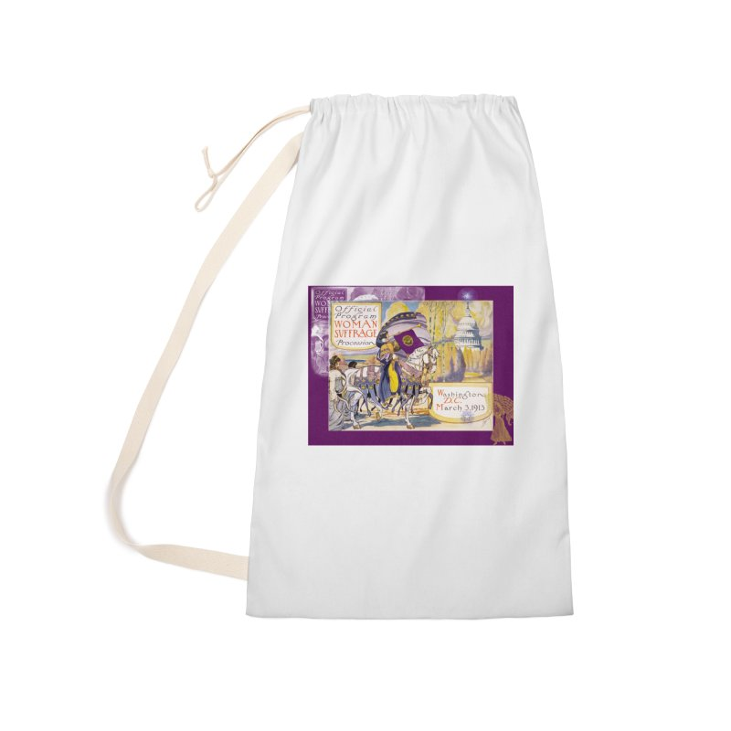 Women's March On Washington 1913, Women's Suffrage Accessories Laundry Bag Bag by Maryheartworks's Artist Shop