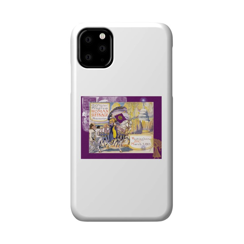 Women's March On Washington 1913, Women's Suffrage Accessories Phone Case by Maryheartworks's Artist Shop
