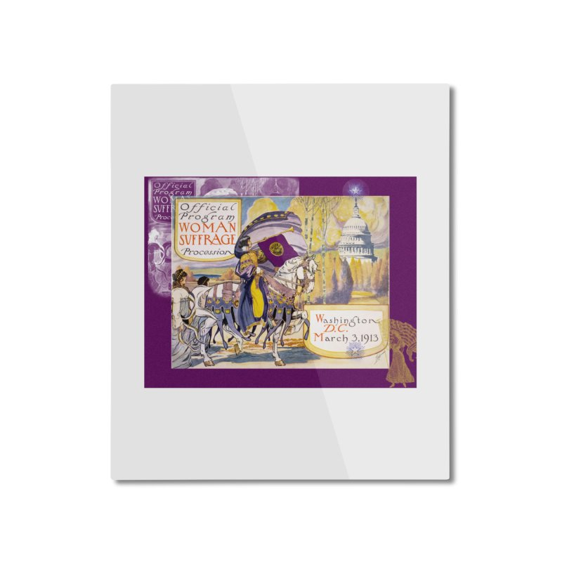 Women's March On Washington 1913, Women's Suffrage Home Mounted Aluminum Print by Maryheartworks's Artist Shop