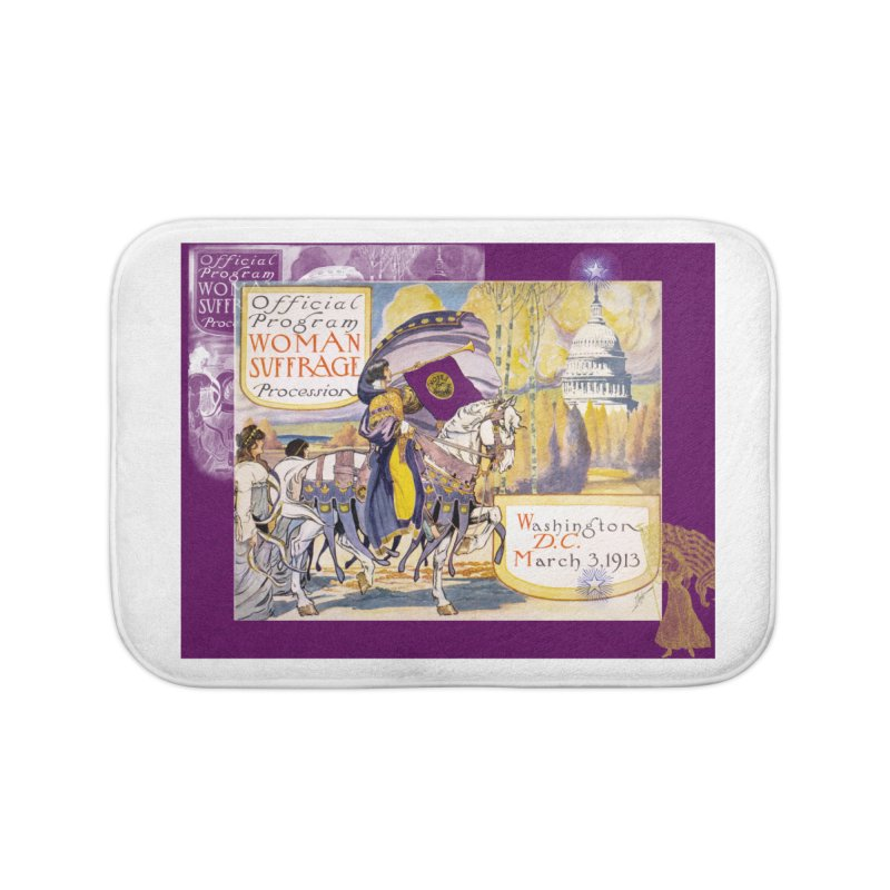 Women's March On Washington 1913, Women's Suffrage Home Bath Mat by Maryheartworks's Artist Shop