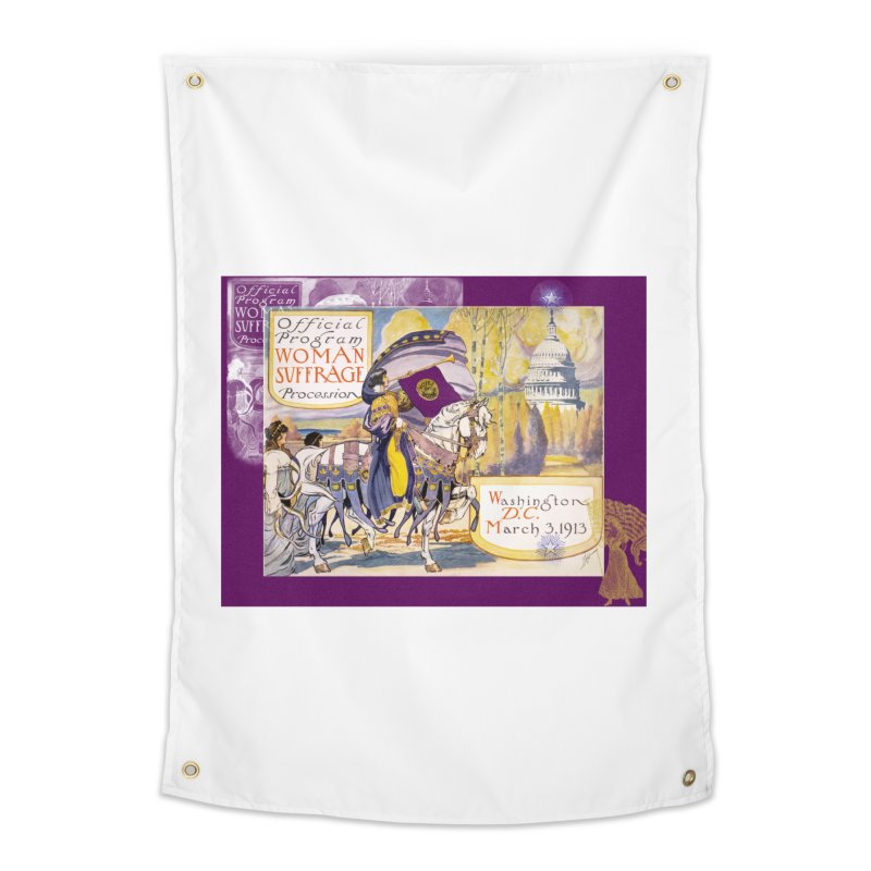 Women's March On Washington 1913, Women's Suffrage Home Tapestry by Maryheartworks's Artist Shop