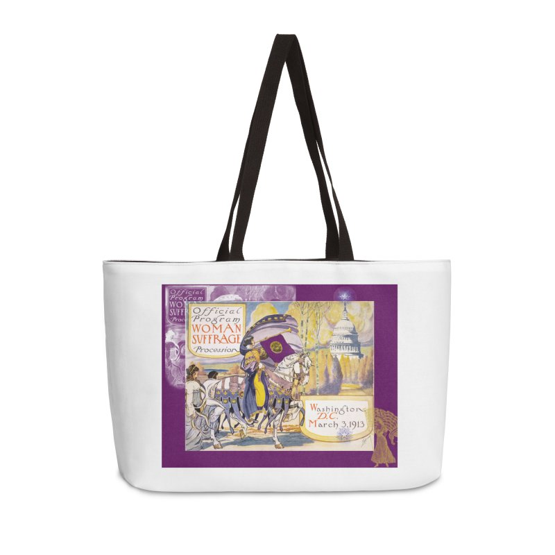 Women's March On Washington 1913, Women's Suffrage Accessories Bag by Maryheartworks's Artist Shop