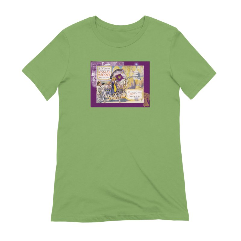 Women's March On Washington 1913, Women's Suffrage Women's Extra Soft T-Shirt by Maryheartworks's Artist Shop