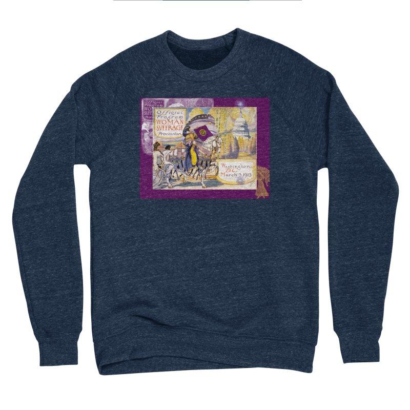 Women's March On Washington 1913, Women's Suffrage Women's Sponge Fleece Sweatshirt by Maryheartworks's Artist Shop