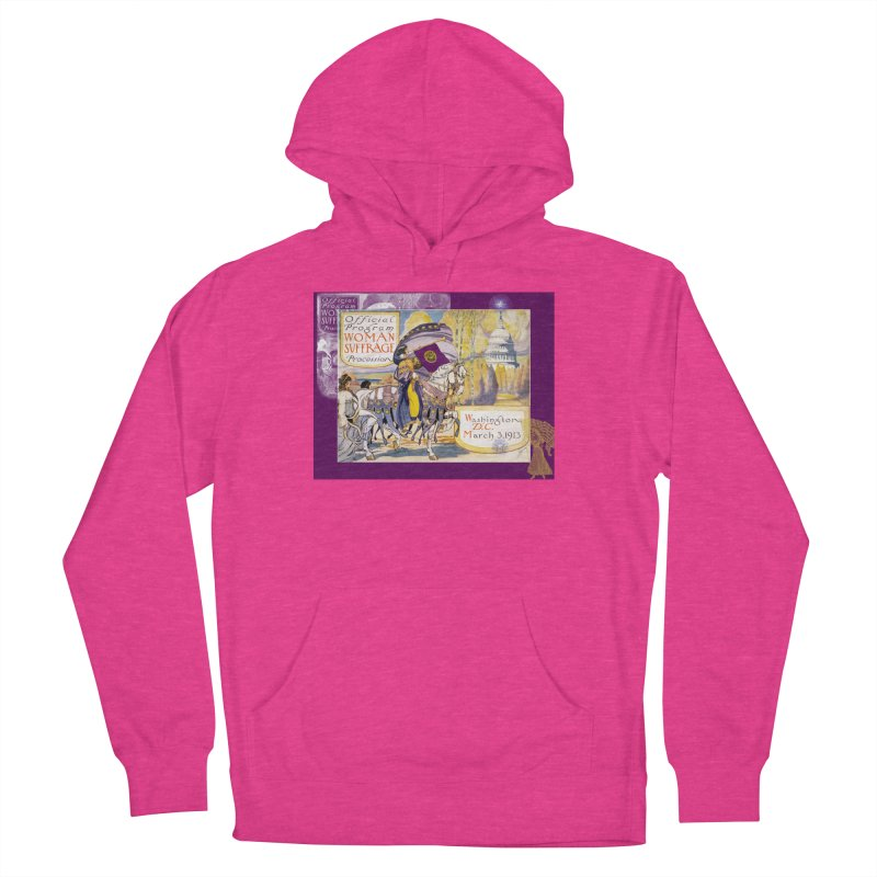 Women's March On Washington 1913, Women's Suffrage Women's French Terry Pullover Hoody by Maryheartworks's Artist Shop