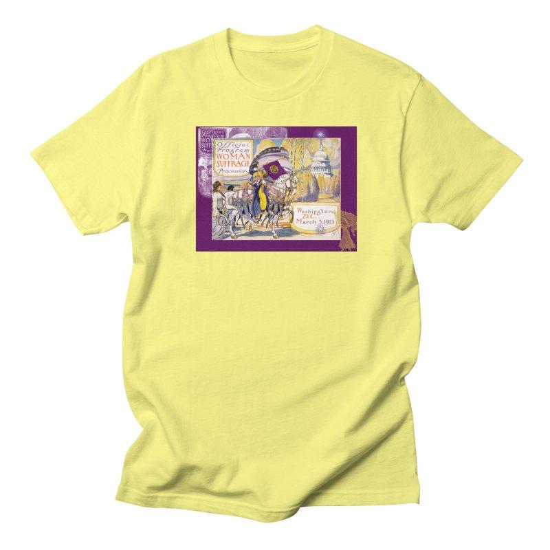 Women's March On Washington 1913, Women's Suffrage Women's Regular Unisex T-Shirt by Maryheartworks's Artist Shop