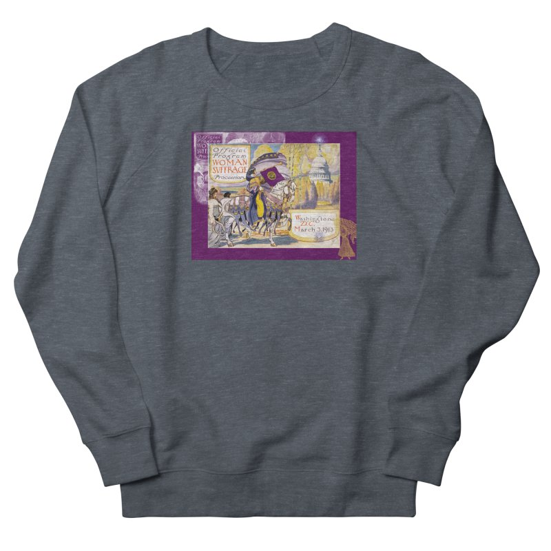 Women's March On Washington 1913, Women's Suffrage Women's French Terry Sweatshirt by Maryheartworks's Artist Shop
