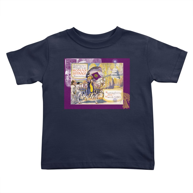 Women's March On Washington 1913, Women's Suffrage Kids Toddler T-Shirt by Maryheartworks's Artist Shop
