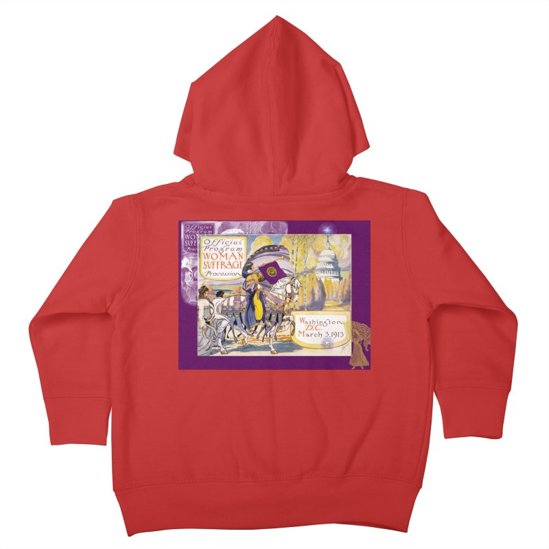 Women's March On Washington 1913, Women's Suffrage Kids Toddler Zip-Up Hoody by Maryheartworks's Artist Shop