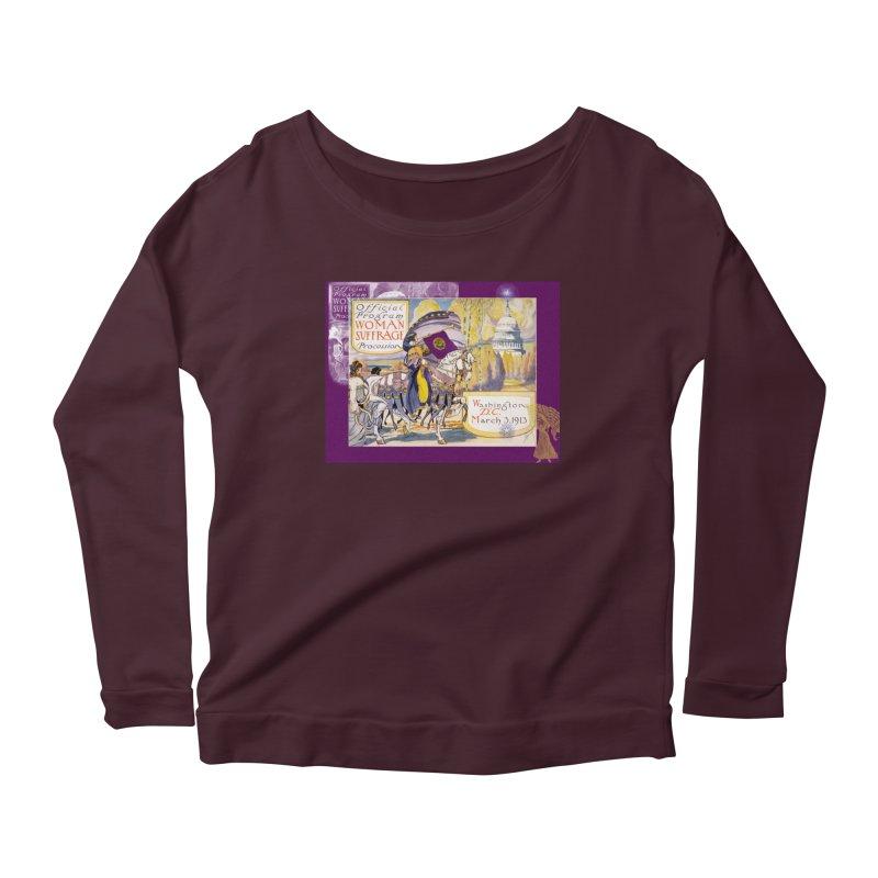 Women's March On Washington 1913, Women's Suffrage Women's Longsleeve T-Shirt by Maryheartworks's Artist Shop