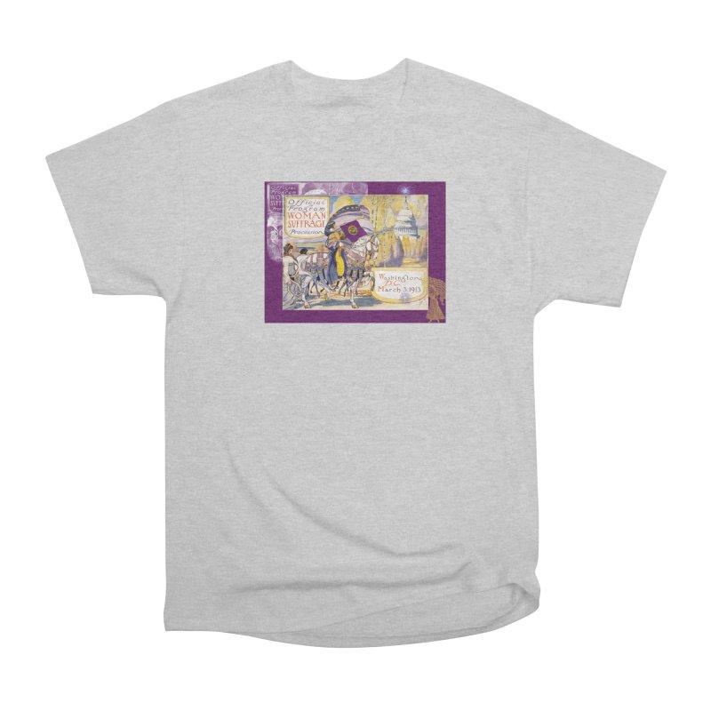 Women's March On Washington 1913, Women's Suffrage Women's T-Shirt by Maryheartworks's Artist Shop