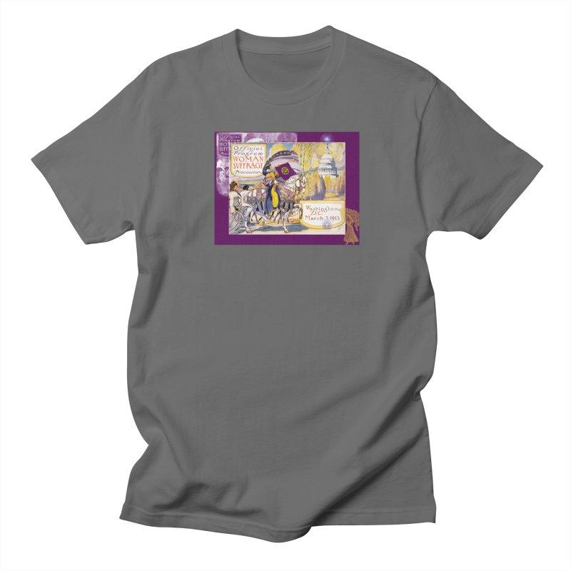 Women's March On Washington 1913, Women's Suffrage Men's T-Shirt by Maryheartworks's Artist Shop