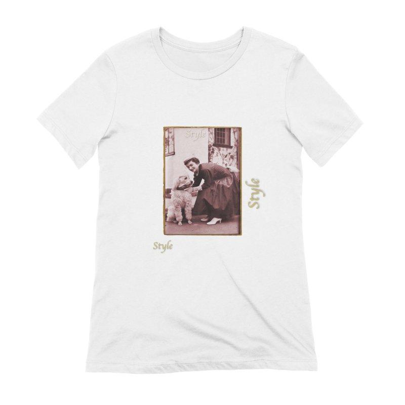 Celebrate Parisian Style! Women's Extra Soft T-Shirt by Maryheartworks's Artist Shop